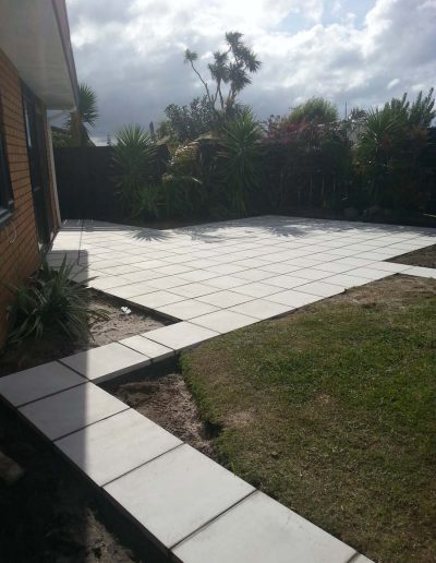 Drycast Paving